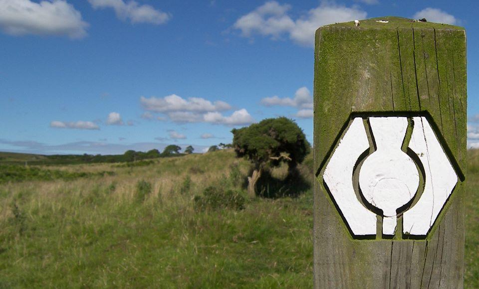 Southern Upland Way Waymarker Post