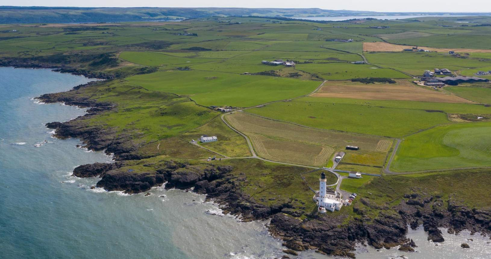 Corsewall Point from the Air