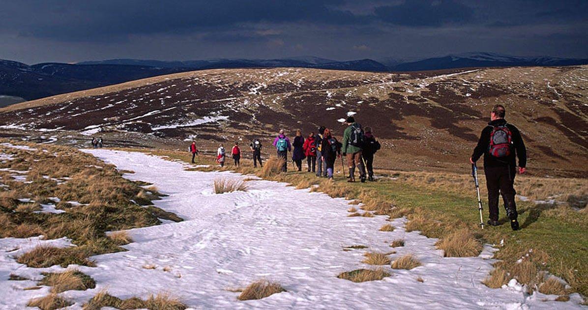 Walkers at Glenlude