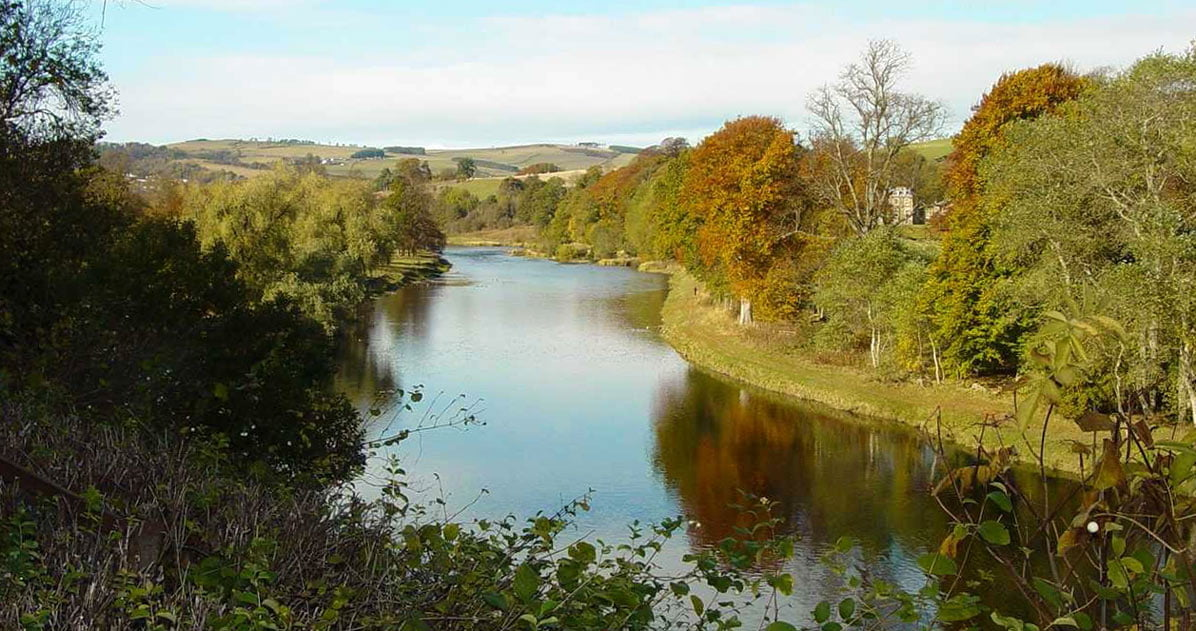 River Tweed from Weirhill